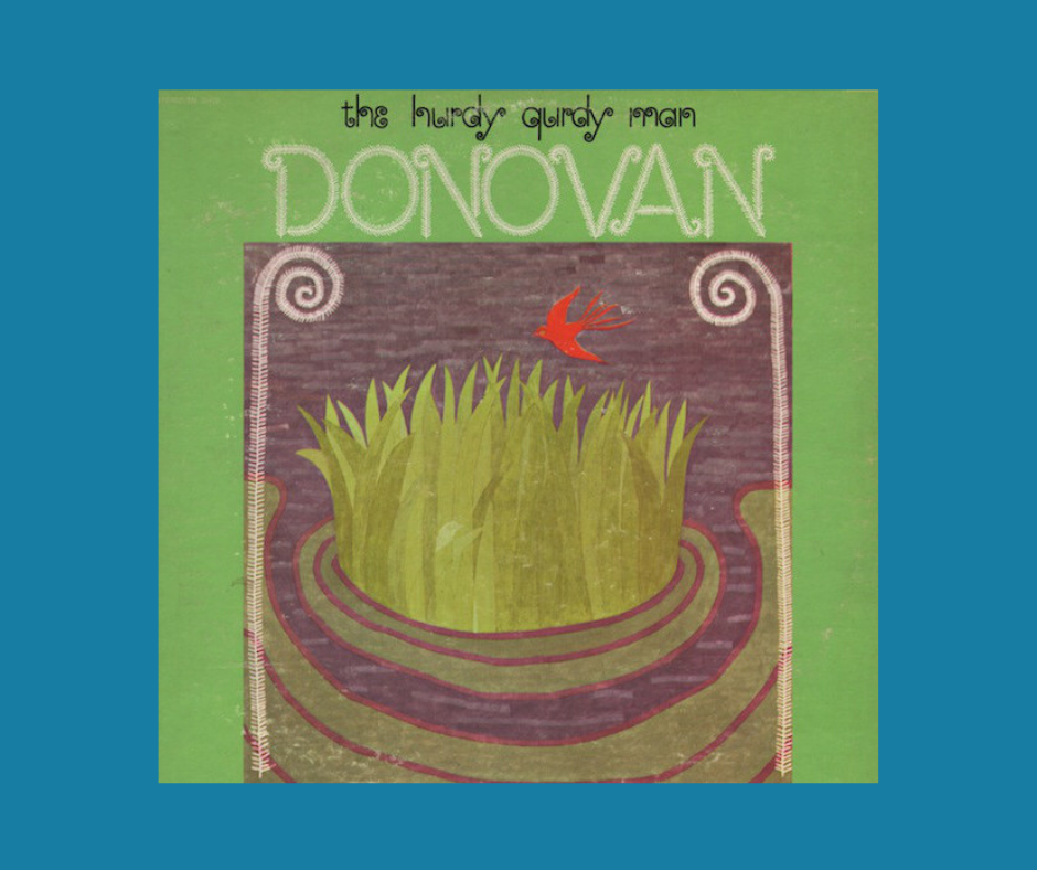 Album cover for Donovan's Hurdy Gurdy Man