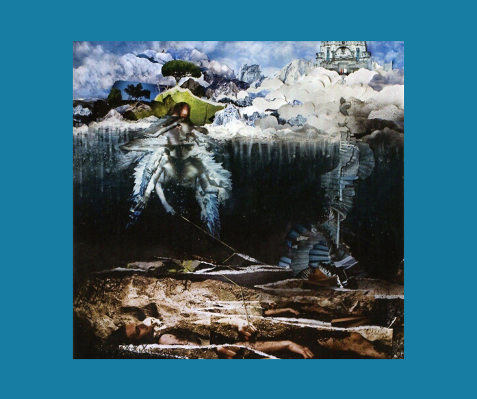 "Cover of the album ""The Empyrean"" by John Frusciante"