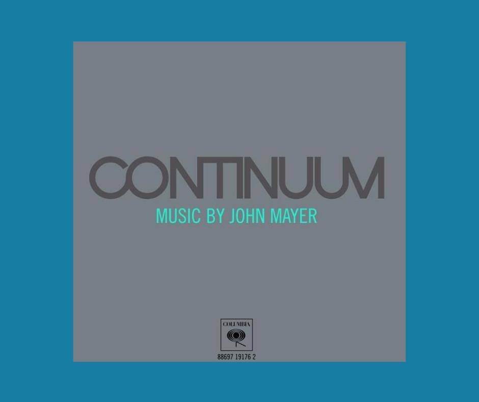 Continuum John Mayer album cover