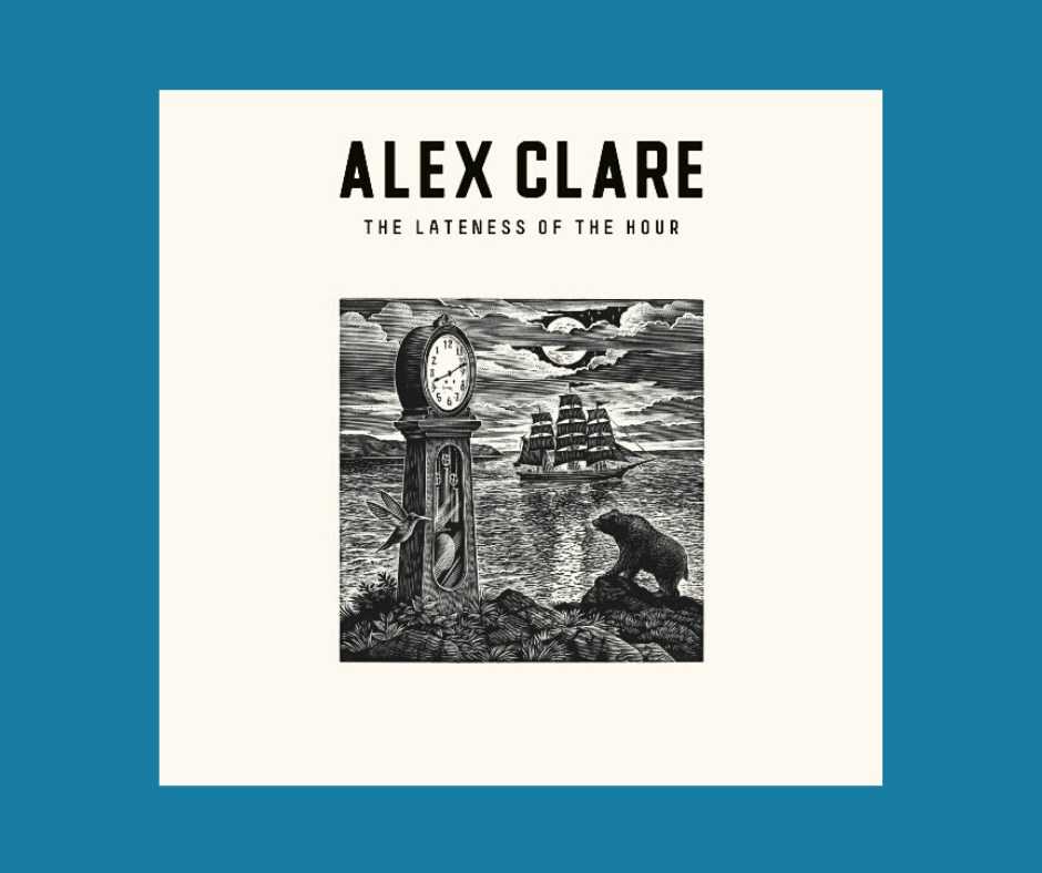 Album cover for Lateness of the Hour by Alex Clare