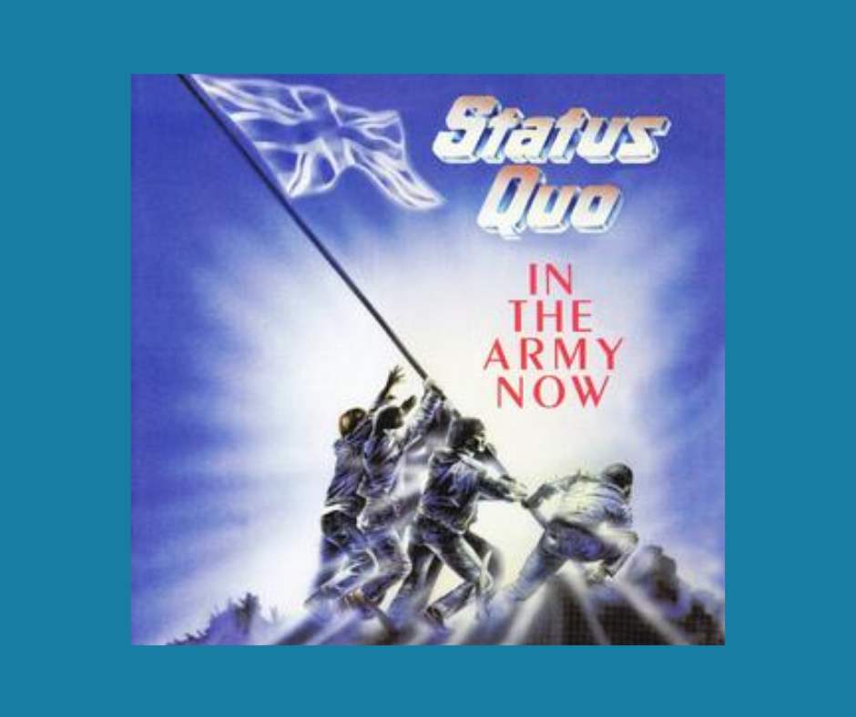 In The Army Now album cover