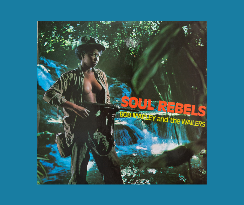 Bob Marley - Soul Rebels album cover