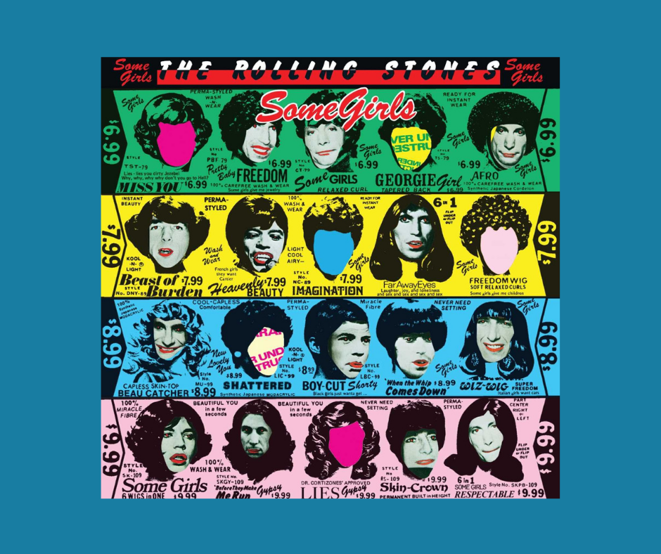 Some Girls - Rolling Stones Album Cover