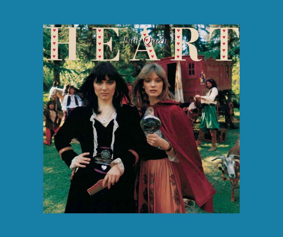 Heart - Barracuda - Little Queen album cover