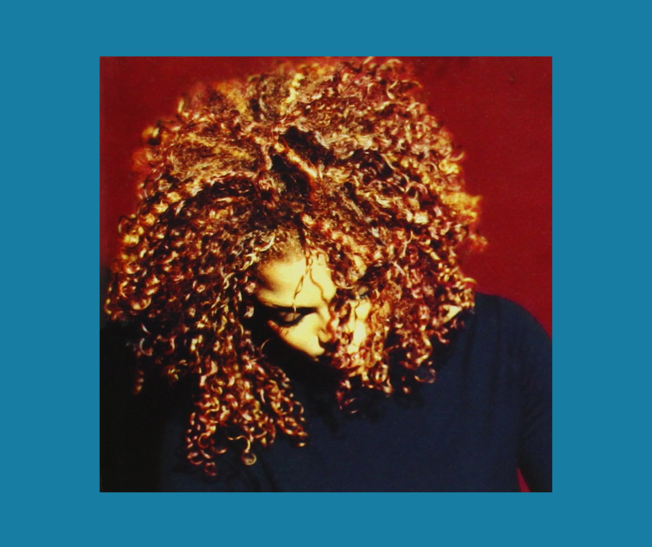 Janet Jackson - The Velvet Rope album cover