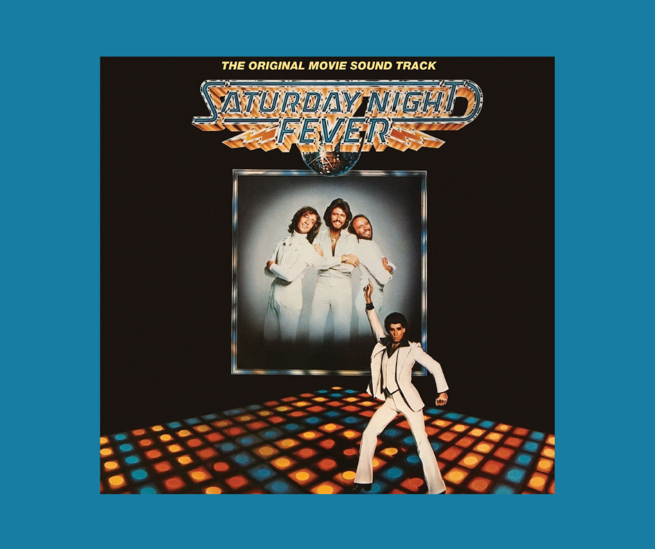 The Bee Gees - Saturday Night Fever album cover