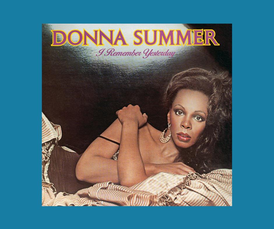 Donna Summer - I remember yesterday album cover